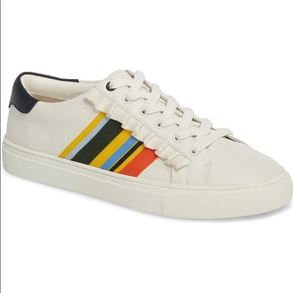 Nwt Tory Sport Ruffle Sneaker Size
